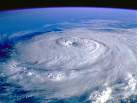 Hurricane Eye Weather photo