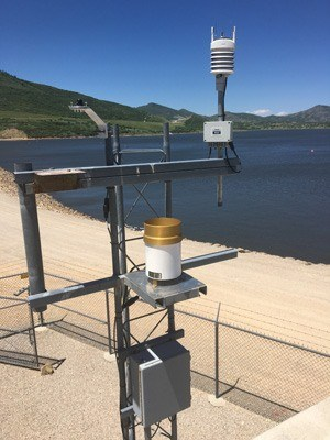 Water Management weather station
