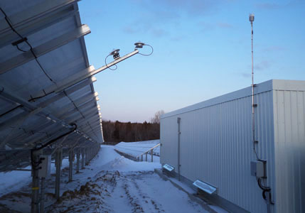 Solar Weather monitoring station