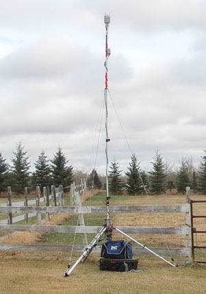 noise monitoring weather station