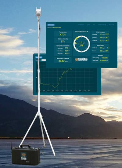 Orion Nomad Portable Weather Station Columbia Weather